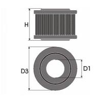 Sportovní filtr Green VOLVO 55 1,1L  výkon 40kW (54 hp) rok výroby 67-72