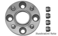 HR podložky pod kola (1pár) VOLVO 704 - 765 HA rozteč 108mm 5 otvorů stř.náboj 65mm -šířka 1podložky 25mm /sada obsahuje montážní materiál (šrouby, matice)